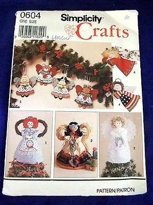ANGELS ~ CRAFT Sewing Patterns ~ Uncut~ Dolls Holidays Christmas ...
