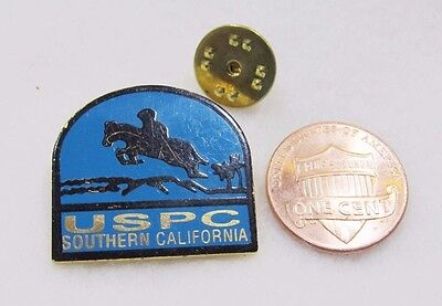 USPC Southern California Horse United States Pony Club  Lapel Pin Pinback Wester