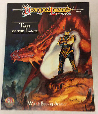DragonLance Tales of the Lance - World Book of Ansalon - BOOK ONLY