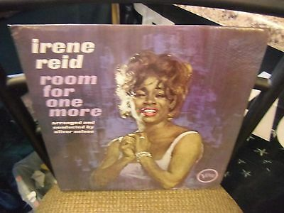 Irene Reid Room For One More [Oliver Nelson] LP Verve Records EX