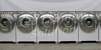 Milnor Front Load Washer 35LB 3PH 220V White Finish Used