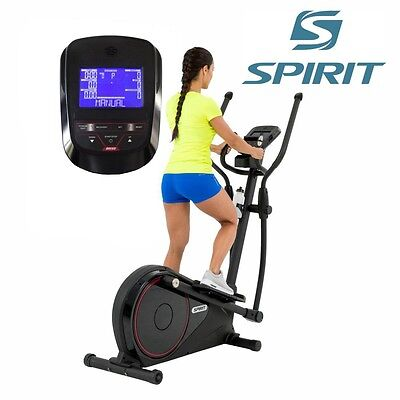 Spirit Cross Trainer DRE 60 - Elliptical Trainer with hand-pulse-sensors, ergome
