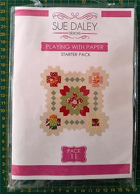 English Paper Piecing Sue Daley Playing With Paper Starter Pack #11