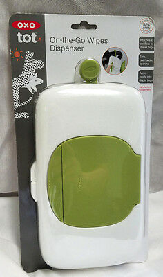 OXO TOT On-The-Go Travel Wipes Dispenser BPA PVC Free NEW in Package