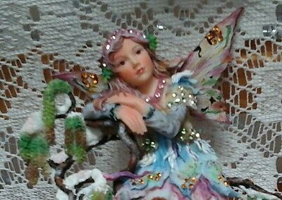 Retired Christine Haworth Faerie Poppet Figurine Ltd Ed  EARLY CAITLIN FAERIE