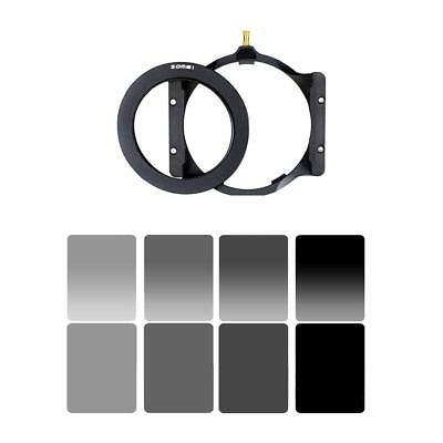 Zomei Square Filter Holder + 67/72/77/82/86mm Lens Adapter Ring for Cokin Z