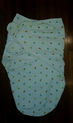 New Baby/Infant Summer Swaddle Wrap Sleeping Bag 100% cotton 0 - 3 months