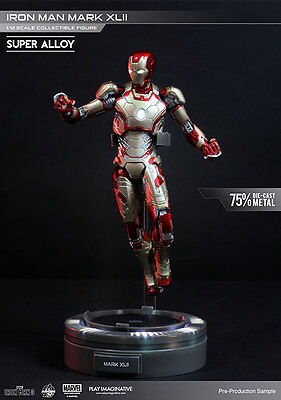 Iron Man 3 Super Alloy Action Figure 1/12 Iron Man Mark XLII 15 cm Play Figures