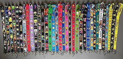 Pokemon Super Mario Nintendo Game Lanyard Neck Strap ID Badge Key Phone Whistle