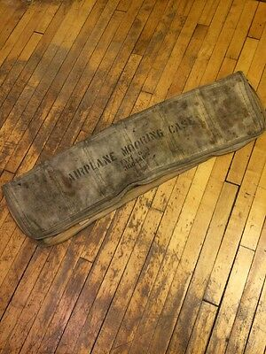 WW2 Airplane Mooring Case Type-D-1 USAAF USN 1930's 1940's Aviation Vintage Rare