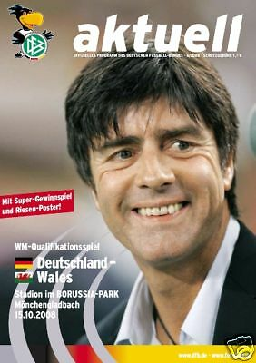 World Cup Qualifying 15.10.2008 Germany - Wales