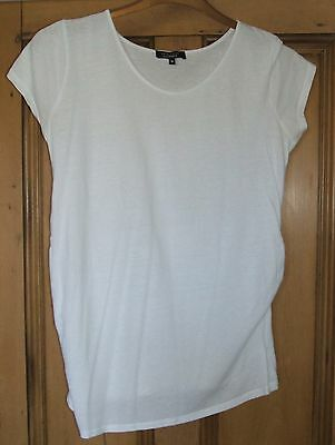 New Look Maternity - White T-Shirt Top - Size 10