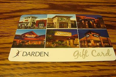 Olive Garden & more GIFT CARD NO VALUE-Never Used or Activated Collectable