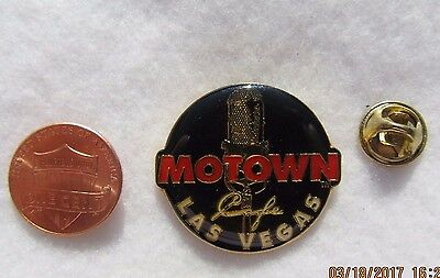 Motown Cafe Las Vegas Nevada Lapel Pin Pinback Hat