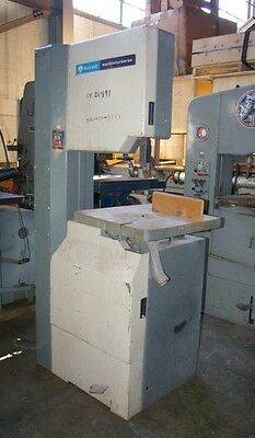"""20"""" Rockwell #28-340, Wood/non Ferrous Vertical Band Saw, 2Hp, Tilting Table"""