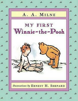My First Winnie-The-Pooh by A.A. Milne (English) Board Books Book Free Shipping!