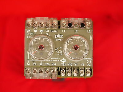 Pilz Pswz-F 120V 475946 Safety Monitoring Relay (3A2)