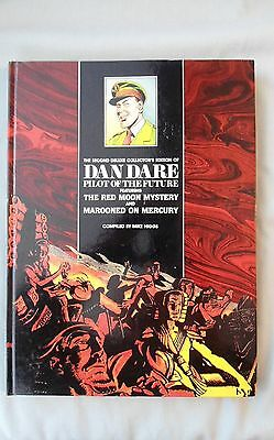 BOOK DAN DARE PILOT OF THE FUTURE 2nd DELUXE COLLECTORS EDITION 1988 1st EDITION