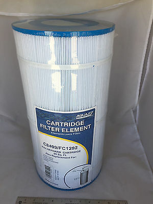 NEW Aqua EZ Cartridge Filter Element C8600/PA80 Fits Hayward Unicel Pleatco Star
