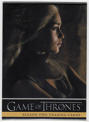 Game of Thrones Season 2 (TWO) Promo Card P1 Mint Rittenhouse Archives