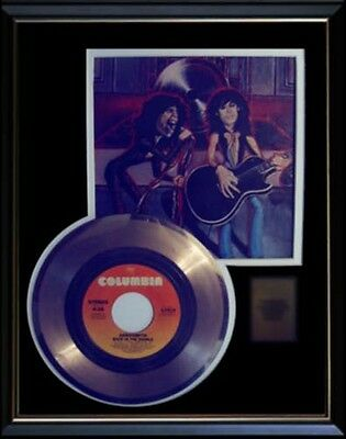 Aerosmith Back In The Saddle  Rare Gold Record Disc & 45 Rpm Sleeve