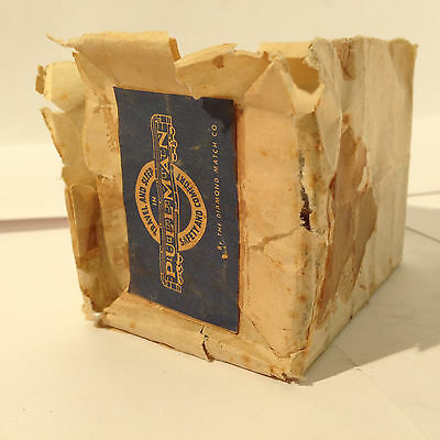 Pullman Railway Company Matches 4 Boxes in Original Paper Pkg Diamond Matches  |