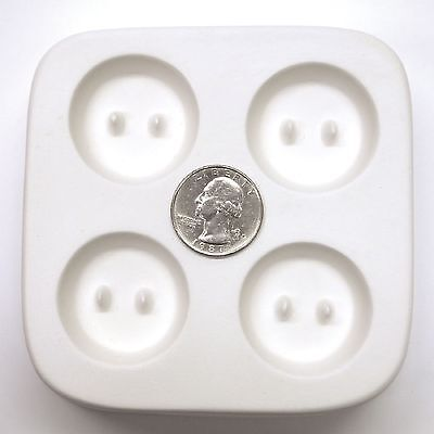 Holey Casting Buttons Mold for Fusing Glass Frit LF87 Retail for $19