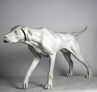 Life-size Pointer Dog sculpture statue 51""