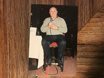 Comedian Don Rickles Amateur Snapshot At Desert Inn Hotel Relaxed Performing