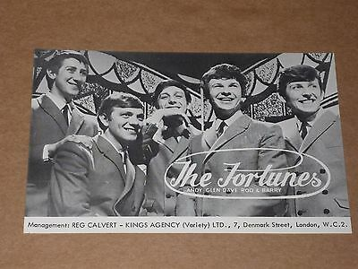 Fortunes 1964 7 x 5 Photocard