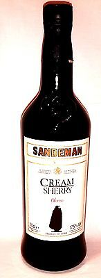 Sandeman Sherry Cream Oloroso ca. 40 Jahre alt  70cl   17,5%vol