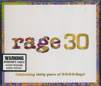 Rage 30 3-disc CD NEW Christine Anu Kylie Minogue Spears Pnau Presets Ceberano