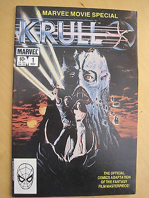KRULL 1, MARVEL MOVIE SPECIAL. By MICHELINE & BLEVINS. MARVEL. 1983