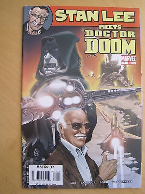 STAN LEE meets DOCTOR DOOM by LOEB, KIRBY etc. FANTASTIC ONE-SHOT.MARVEL.2006