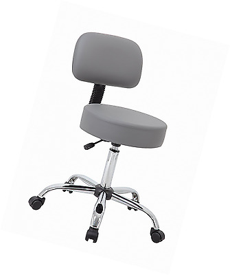 New Adjustable Office Boss Well Medical Spa Professional Drafting Stool, Grey
