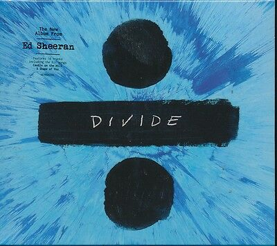 Ed Sheeran Divide CD NEW