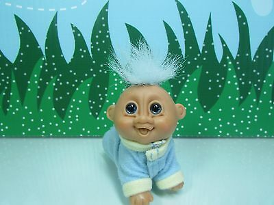"CRAWLING BABY - 3"" Russ Troll Doll - EXCELLENT CLEAN CONDITION"