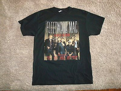 2014/15 Fleetwood Mac Back In Full Tour T-Shirt Large