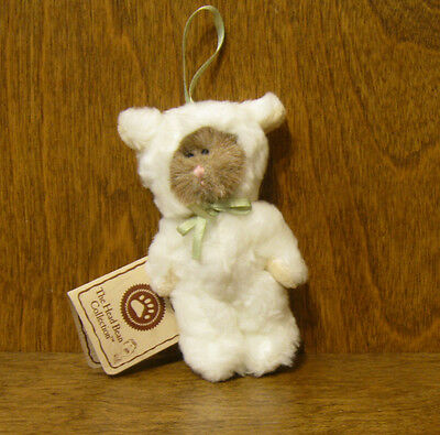 """Boyds Plush Ornament #562433 BABY BAAKINS,, New/Tag From Retail Store 4"""" Jointed"""