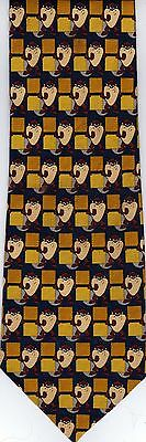 Warner Bros Looney Tunes Taz Tasmanian Devil Neck Tie ©1999