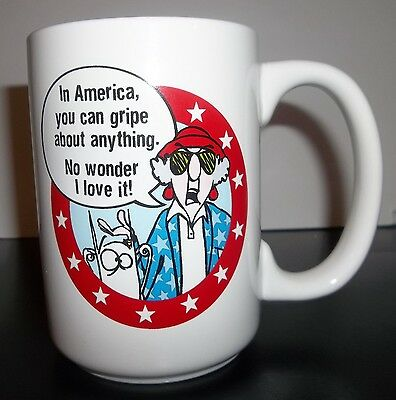 Maxine America You Can Gripe About Anything Mug - NEW