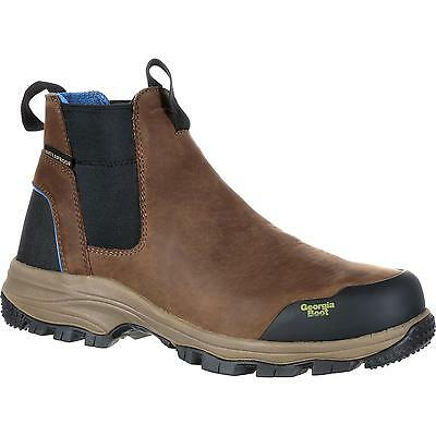 New Georgia Boot GB00106 Men's Brown Work Boots