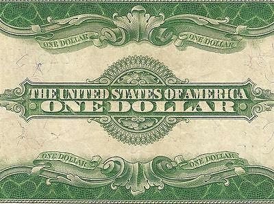 Large 1923 $1 Dollar Bill Silver Certificate Currency Note Big Paper Money F 238