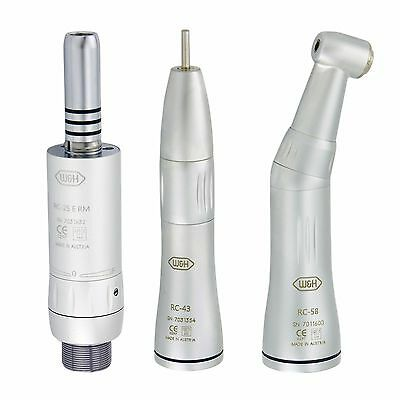 W&H Dental Inner Water Contra Angle Air Motor Straight Handpiece Kit 2 Hole