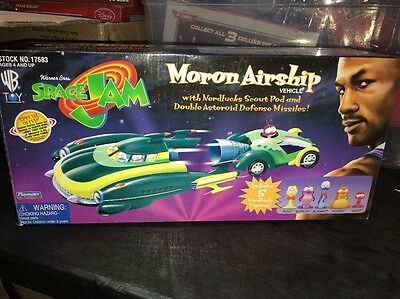 Space Jam Moron Airship 1996 Complete Set Warner Bros New Old Stock Super Rare