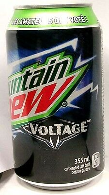 FULL Canadian Dewmocracy Winner Pepsi Mountain Dew Voltage Raspberry Canada 2016