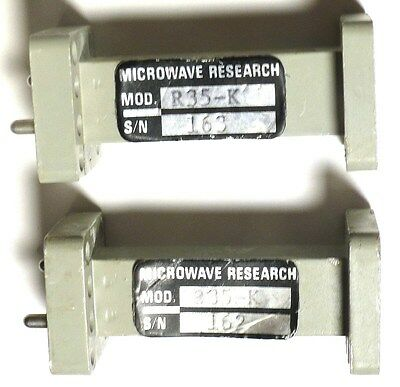 Waveguide Double-Ridge Transition Wrd-180<=>Wr-42 - Mw-Rsch R35-K *pullout*nice*