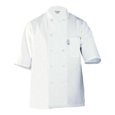 Chef Works Men's Volnay Chef Coat (PCSS) New