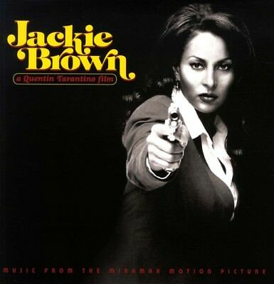JACKIE BROWN Soundtrack LP Vinyl NEW Limited Yellow QUENTIN TARANTINO