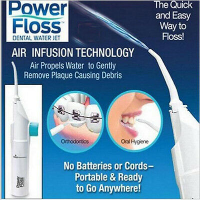 AU Power Floss Dental Water Jet As Seen on TV Cords Tooth Pick Braces NO Battery
